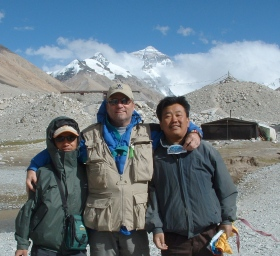 With PuBu and Chen at Everest